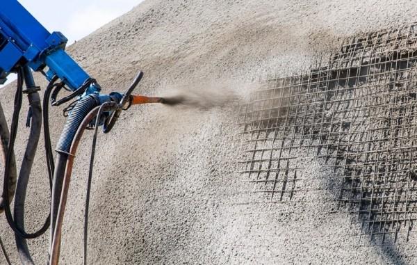 Набрызг бетонная смесь как выровнять кирпичную стену цементным раствором