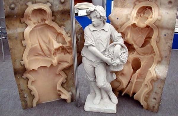 Скульптура из фибробетона технология изготовления цементный раствор для пола цена